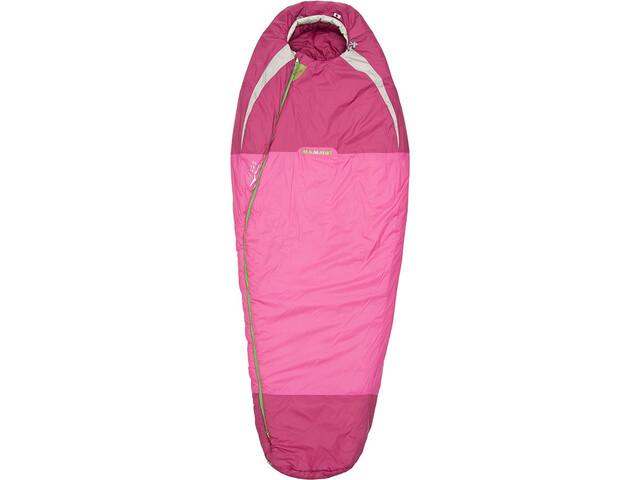 Mammut Kompakt MTI 3-Season Sleeping Bag 185cm Women, pink-dark pink